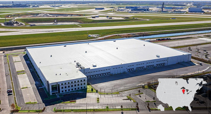 Chicago O'hare International Airport - DHL Global Cargo Facility